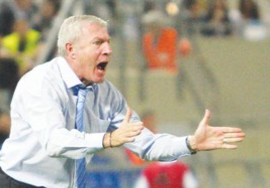 Israeli soccer NATIONAL TEAM coach Luis Fernandez