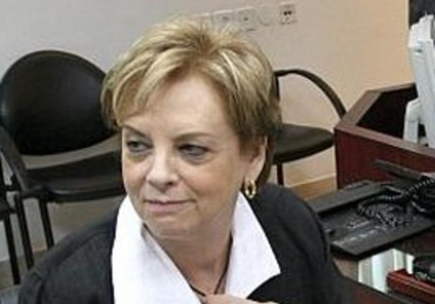 Supreme Court President Dorit Beinish.