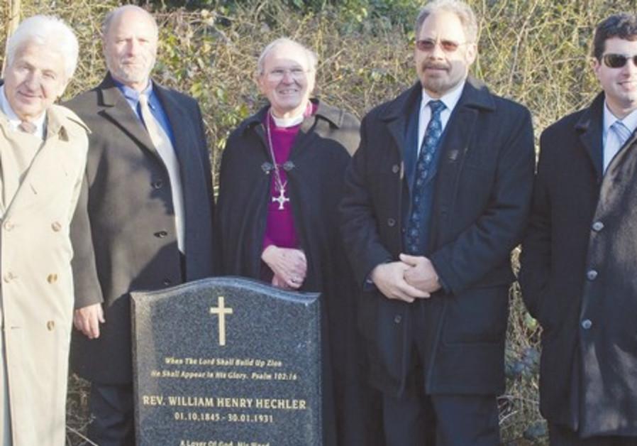 reverend hechler's grave group