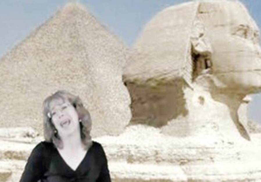 Sandy Cash's Egyptian Revolution Blues.