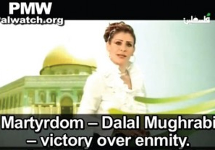 Mughrabi hailed as 'model woman' in Arab TV.