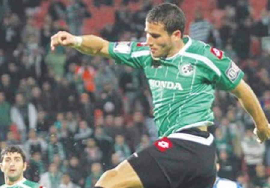 Maccabi Haifa's Tomer Hemed.
