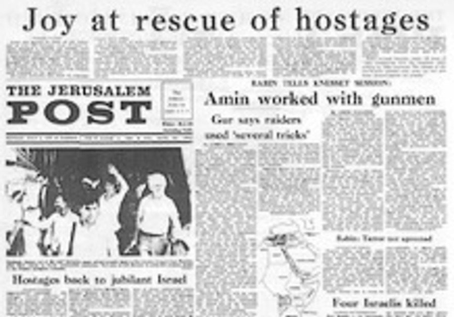 History Revisited: Joy at rescue of Entebbe hostages