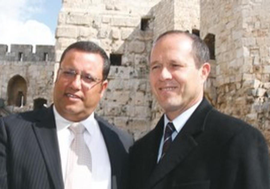 J'lem development authority director with Barkat
