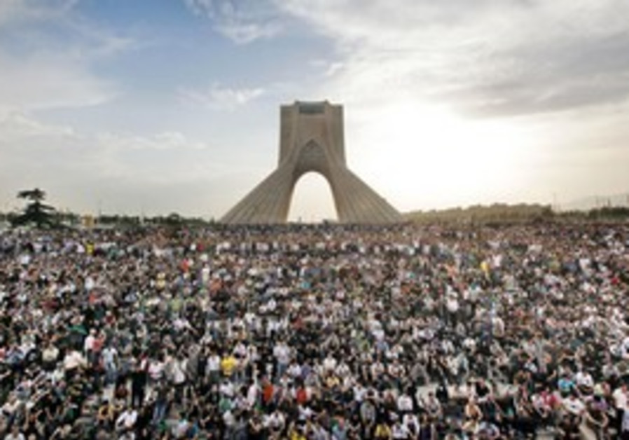 Protests in Iran in 2009