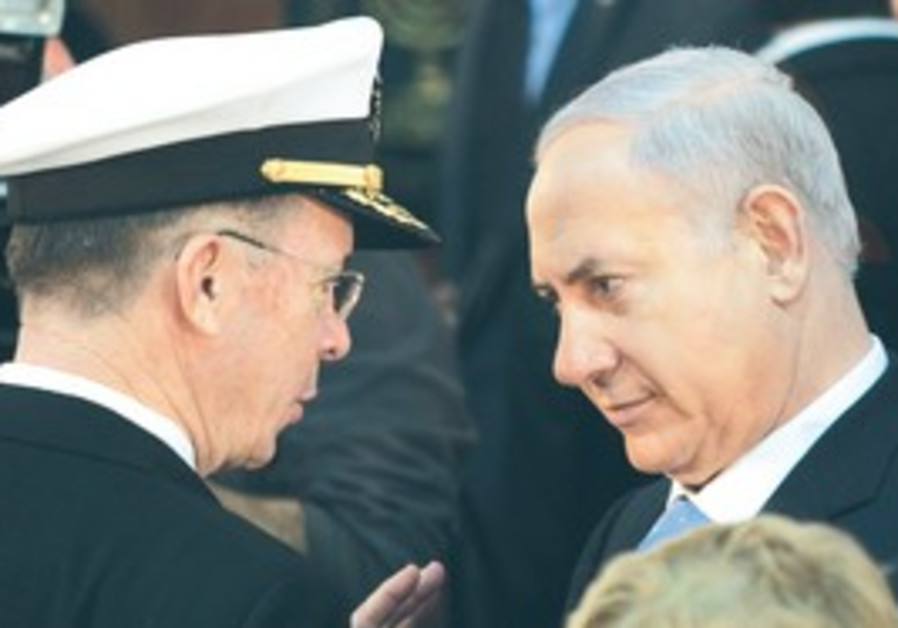 Mullen and Netanyahu meet