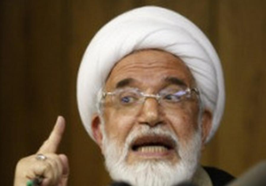 Iranian oppostion leader Mahdi Karroubi