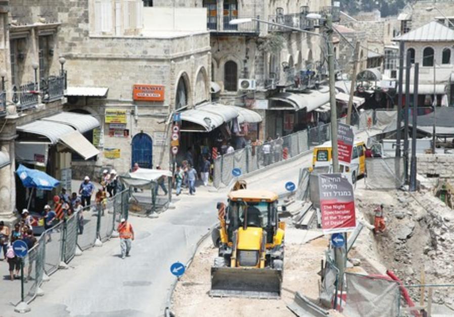 Infrastructure upgrade in Jerusalem
