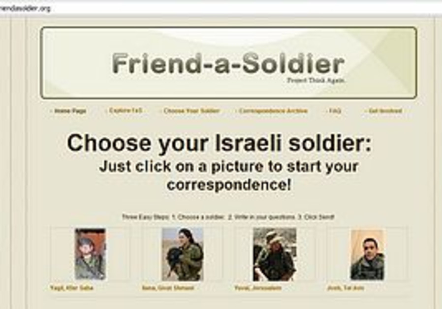 Friend-a-soldier