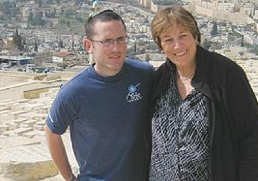 Maureen Rome and her nephew, Danny Sandler