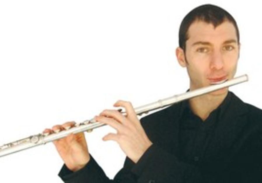 Jazz flutist Itai Kriss.
