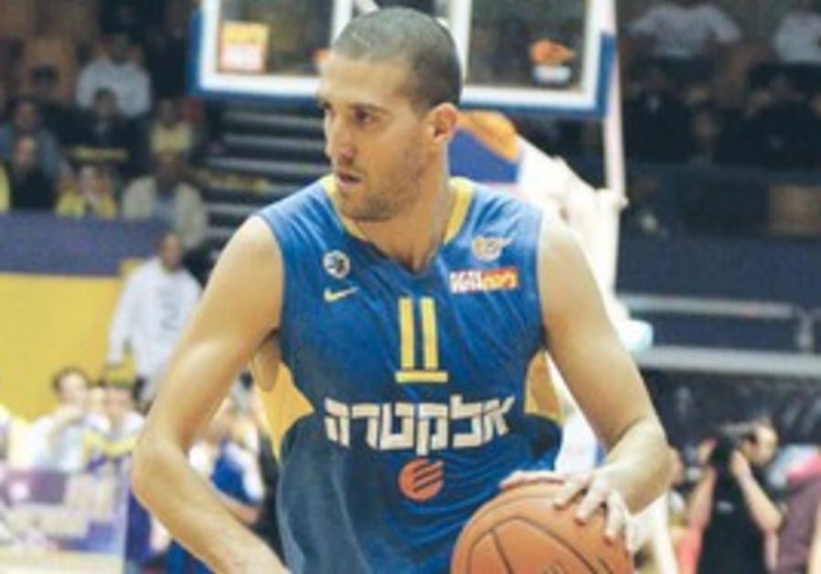 Tal Burstein of Maccabi Tel Aviv