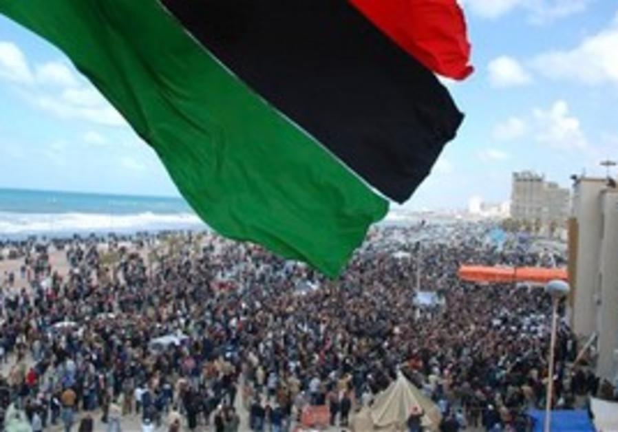 Unrest in Benghazi, Libya