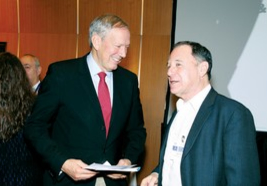 Former NY governor Pataki with Dan Gillerman
