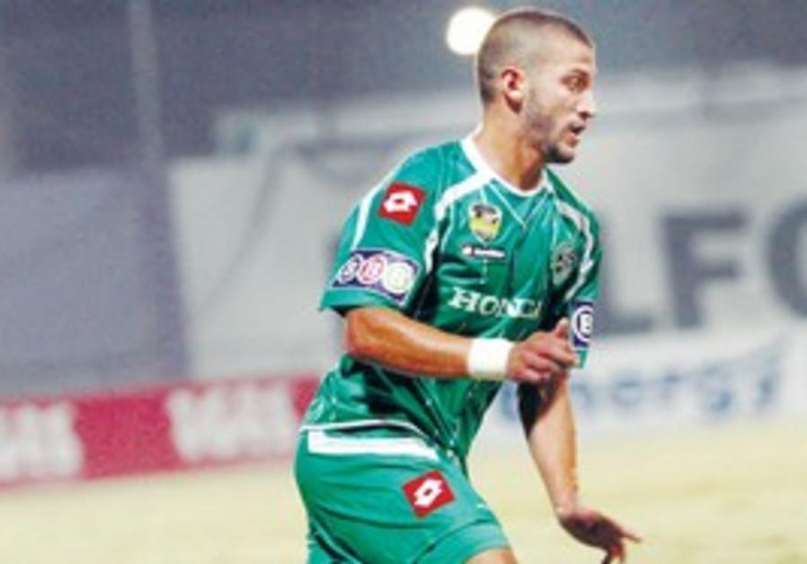 MACCABI HAIFA midfielder Mohammad Ghadir