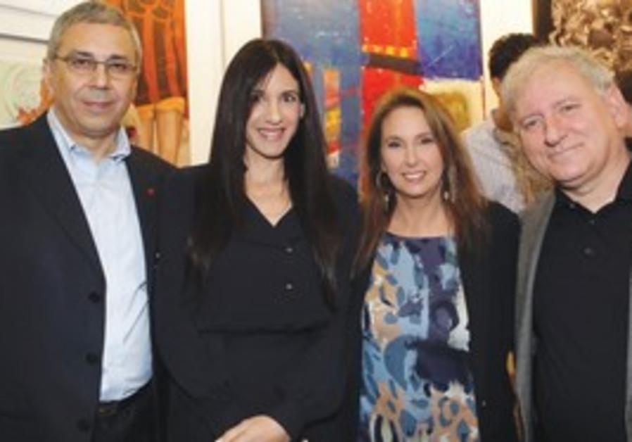Zion Keinen, Efrat Peled, Shari Arison, Yair Serou