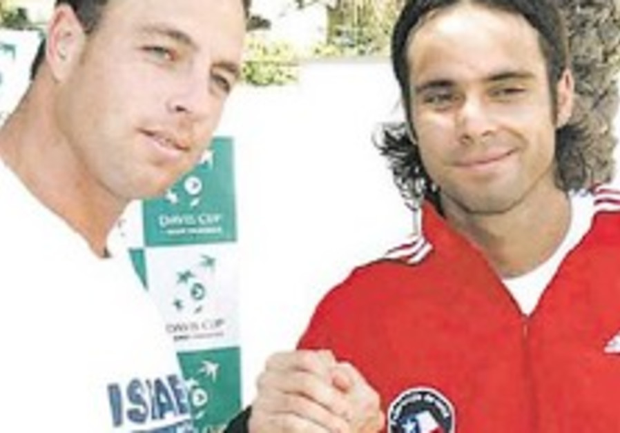 Tennis: Israel faces tough tie against Chile