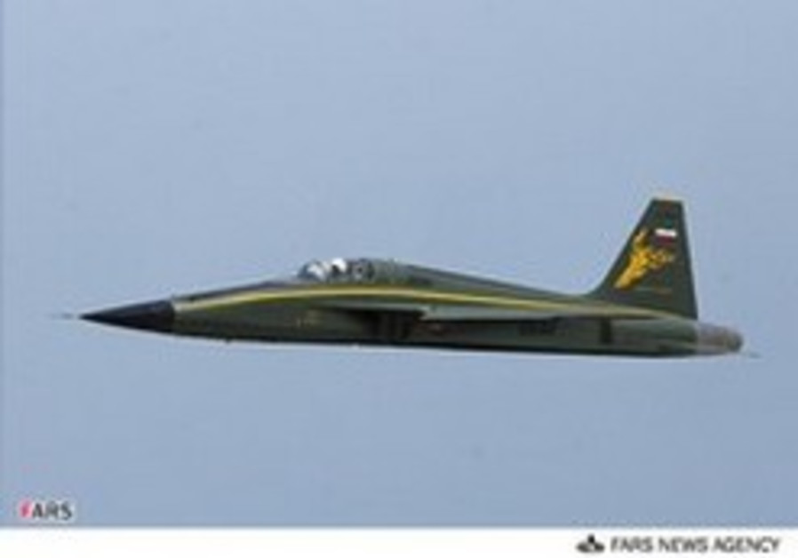 'Iran completes test flight of domestic fighter jets'