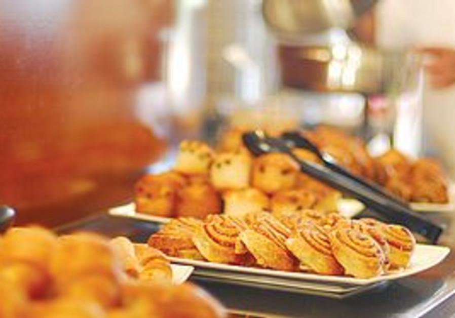 Inbal Hotel breakfast buffet