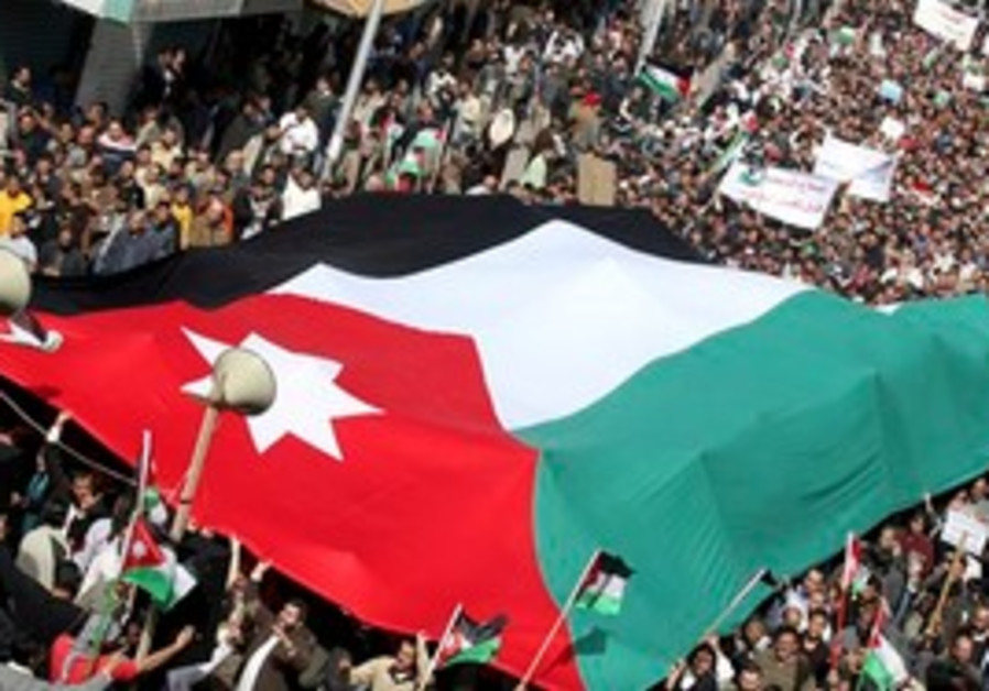Protesters demand democratic reform in Jordan