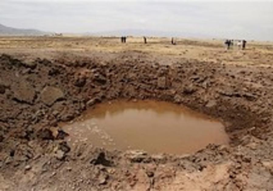 Experts confirm meteorite crash in Peru