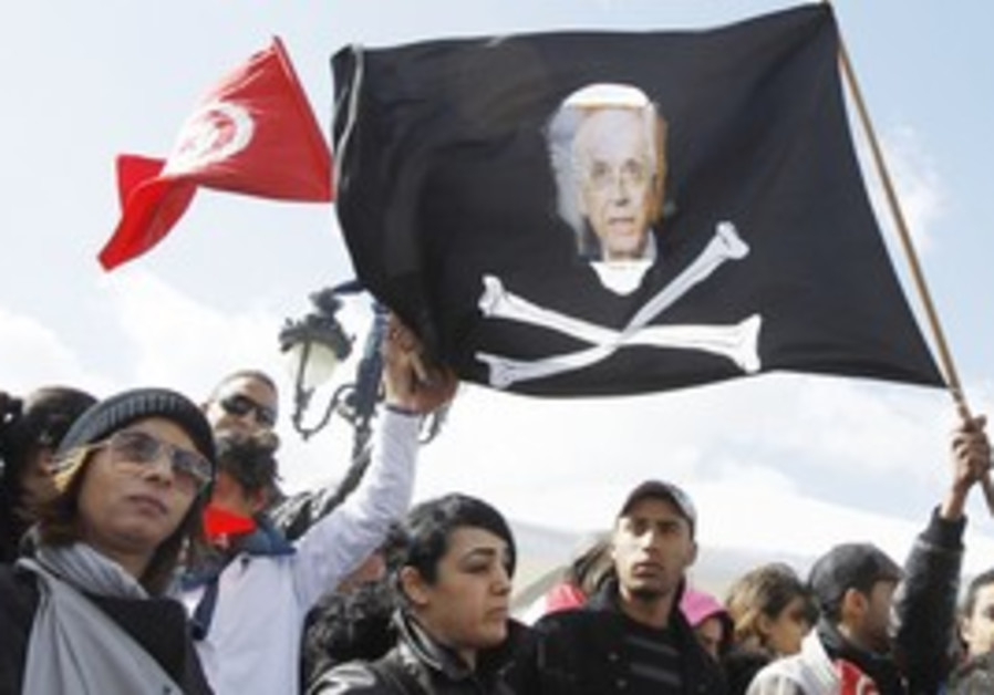 Protests in Tunisia calling for ouster of PM