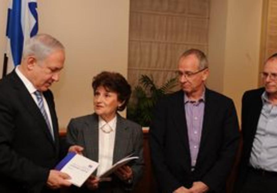 Netanyahu receives Shahda report