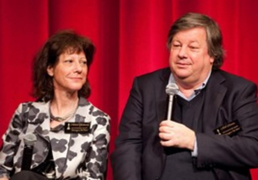 Filmakers Karen Goodman, Kirk Simon