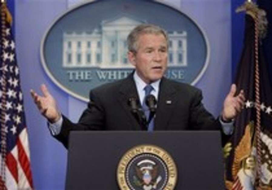 'I'm not going to comment,' says resolute Bush on Syria attack
