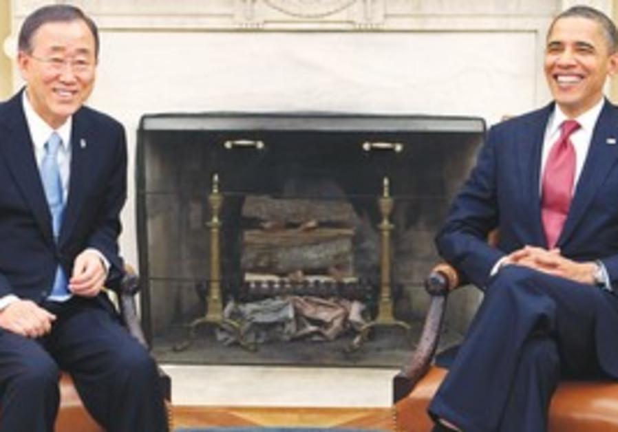 Obama and Ban