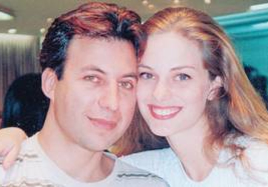 ANAT ELIMELECH and her boyfriend David Afuta