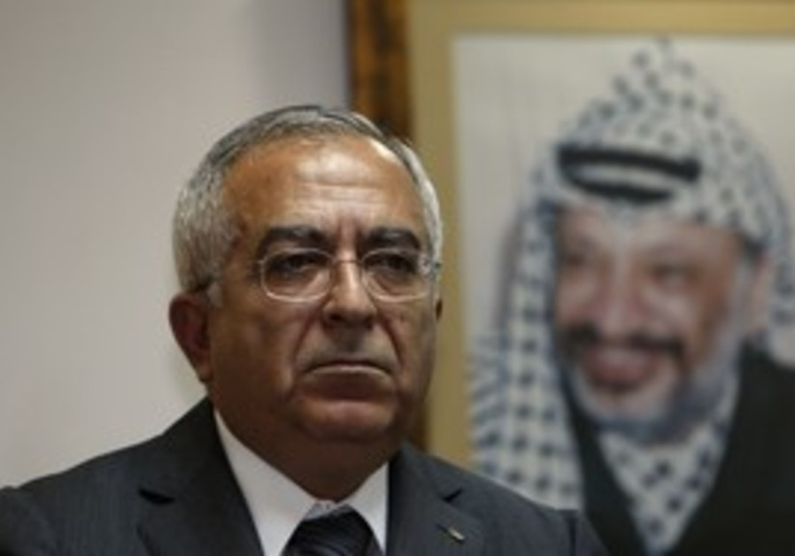 PA Prime Minister Salam Fayyad