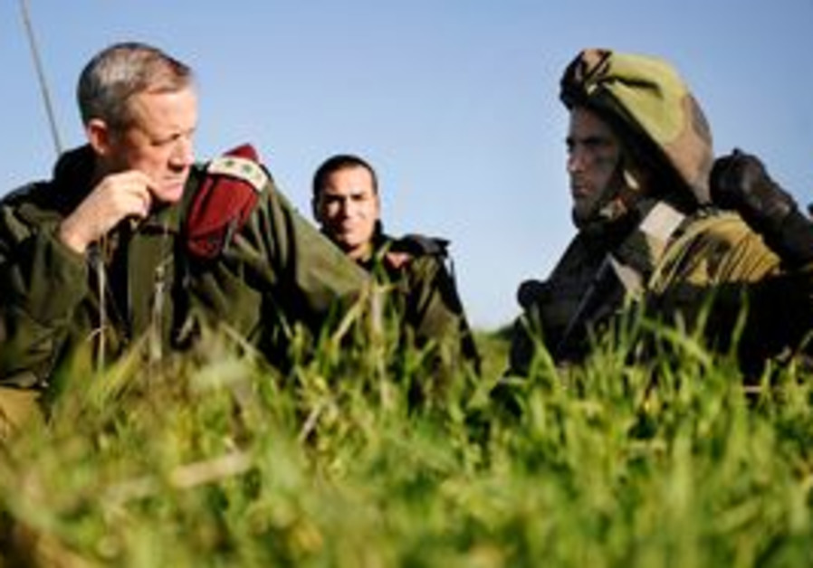 IDF Chief of General Staff Benny Gantz