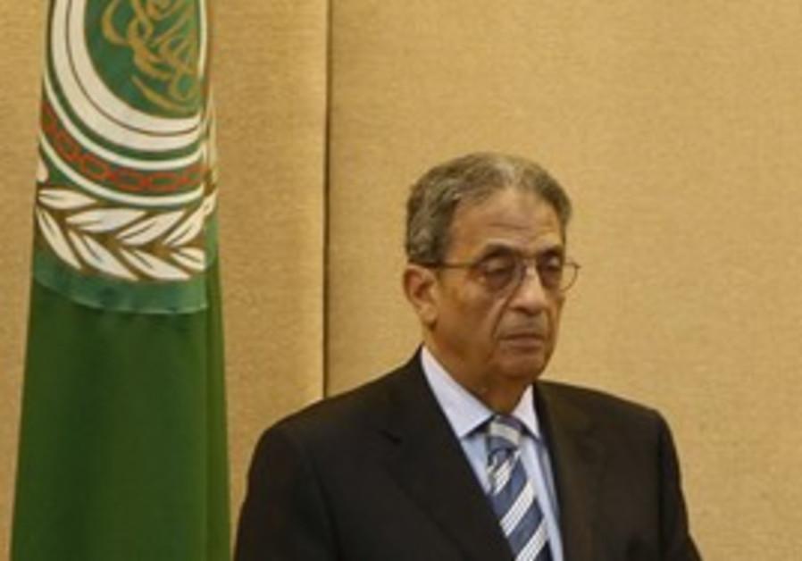 Arab League Secretary-General Amir Moussa.