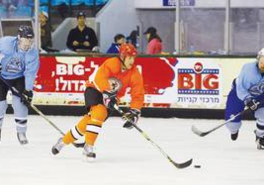 Canada defeats Israel at hockey