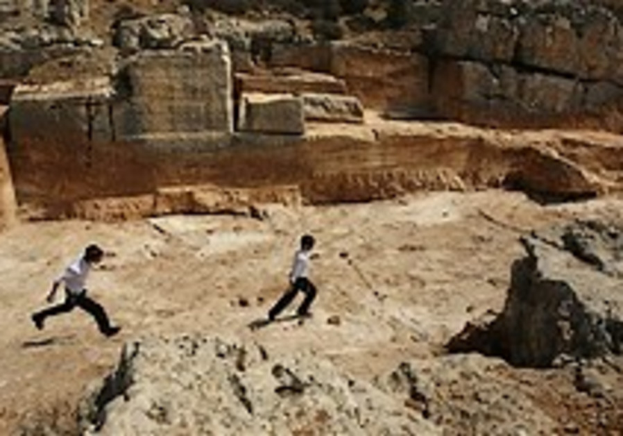 Archeologists find 2nd Temple quarry