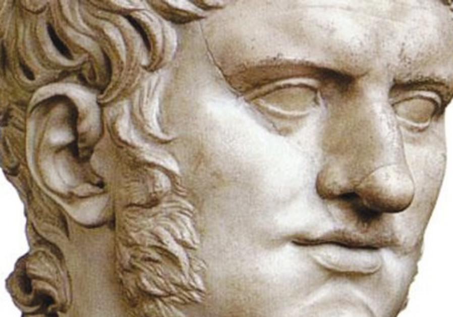 A bust of Nero circa 60 CE.