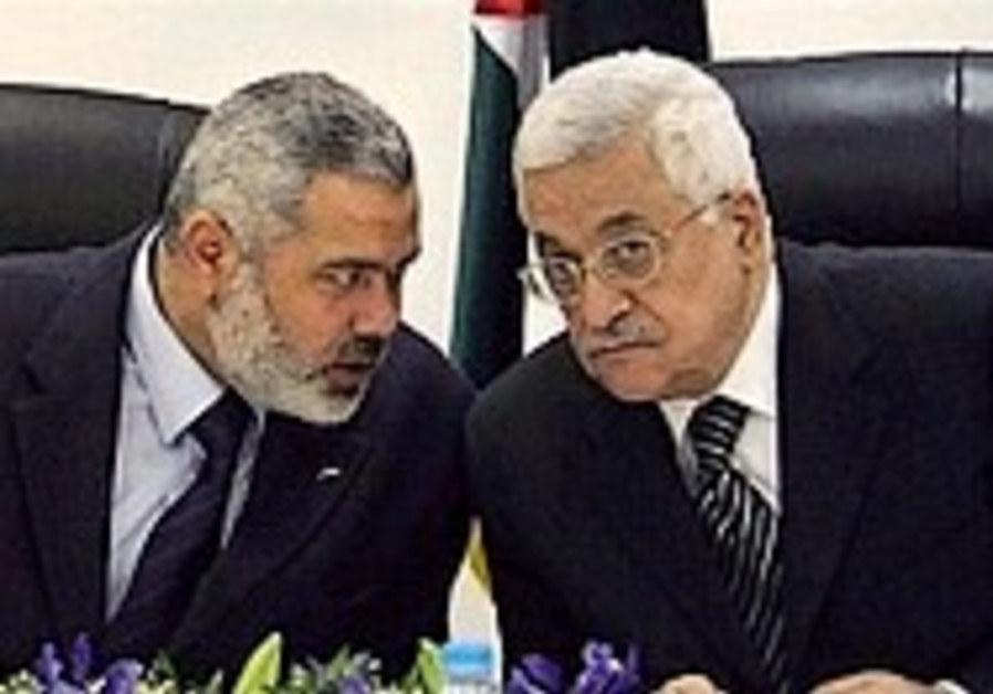 EU: 'We'll back Abbas if Hamas included'