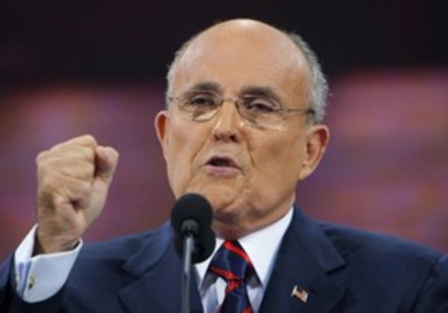 Former NY mayor Rudy Giuliani