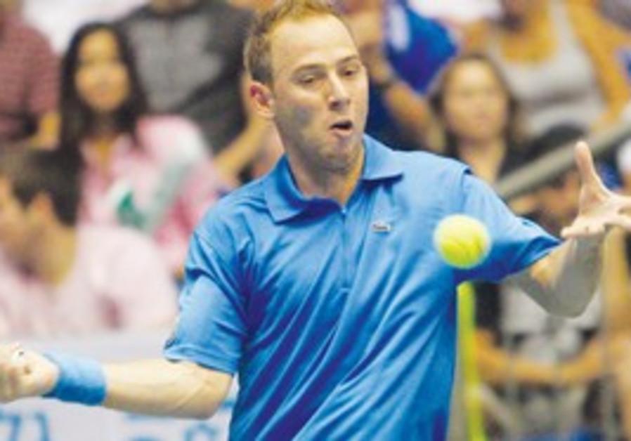 Tennis player Dudi Sela.