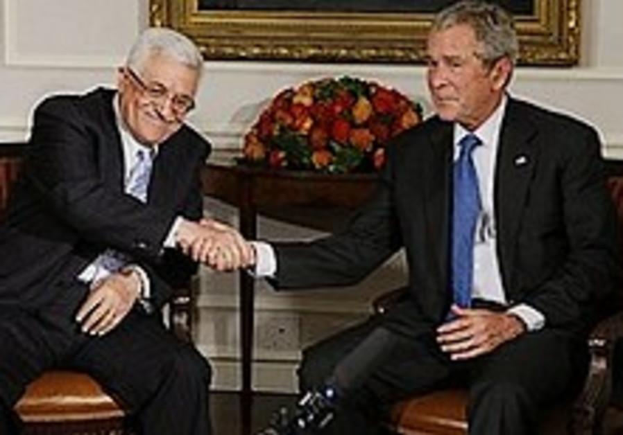 Bush 'optimistic' about Mideast peace