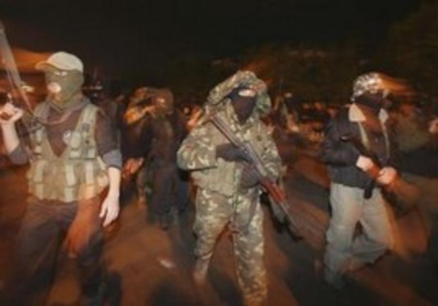 Hamas members [illustrative].