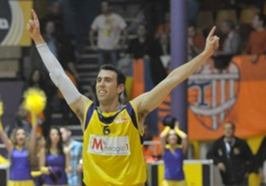 Hapoel Holon guard Moran Rot had 16 points.
