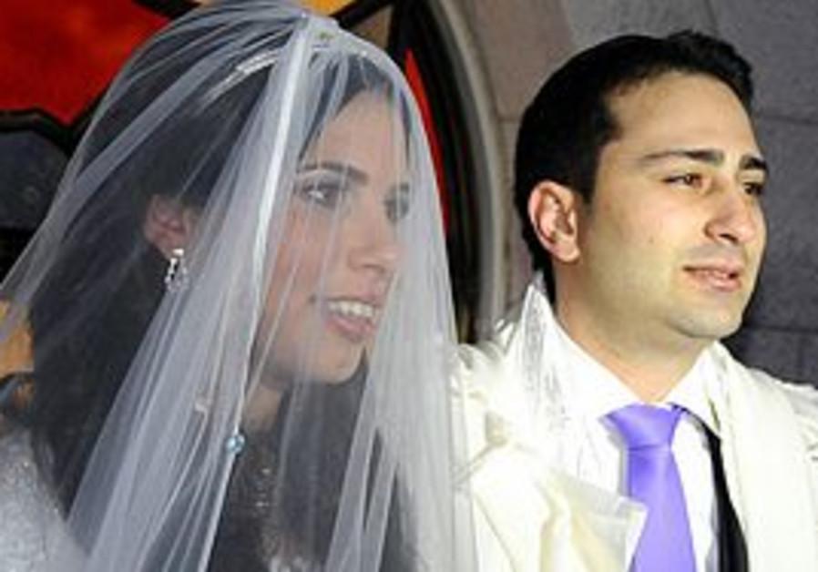 Wedding at the Hurva synagogue