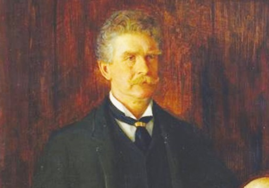 American author Ambrose Bierce (1842-1913)