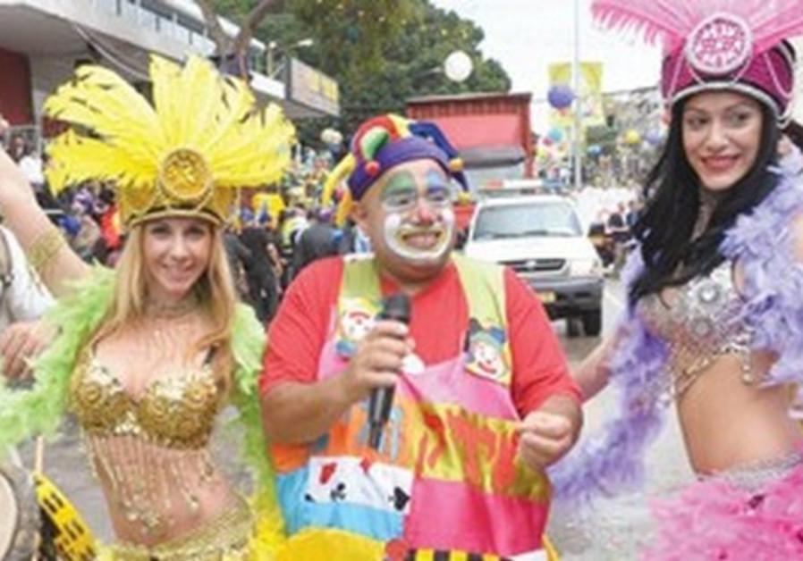 Holon Purim parade
