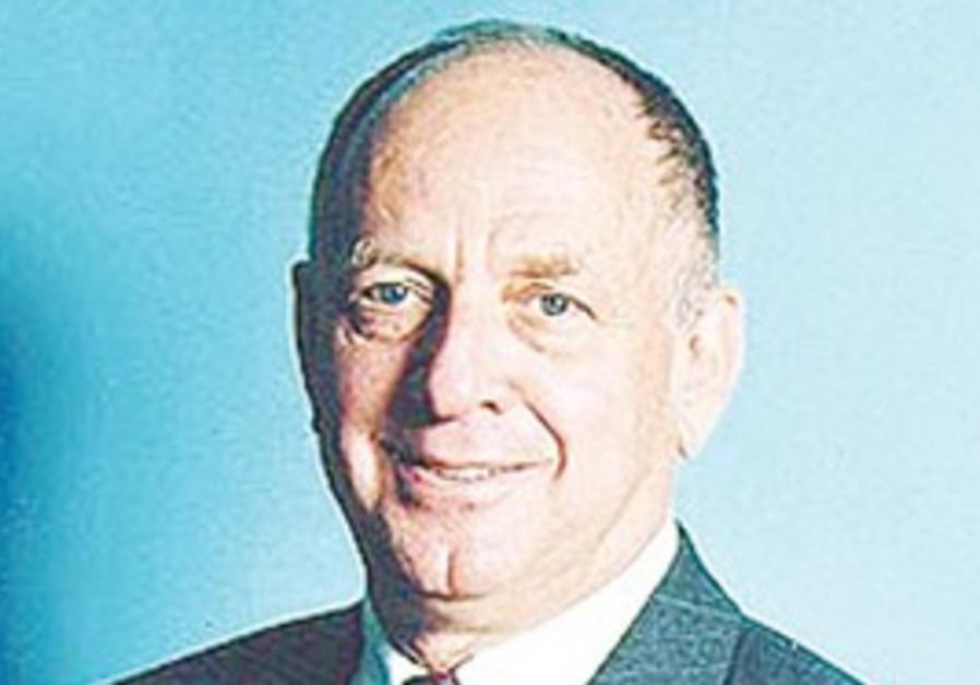 Former Knesset speaker Dan Tichon.