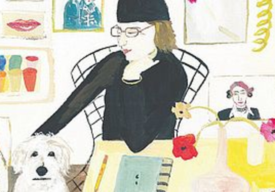 Self portrait with Pete - Maira Kalman