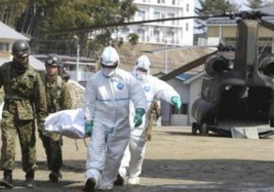 Japanese victim suspected of radiation exposure