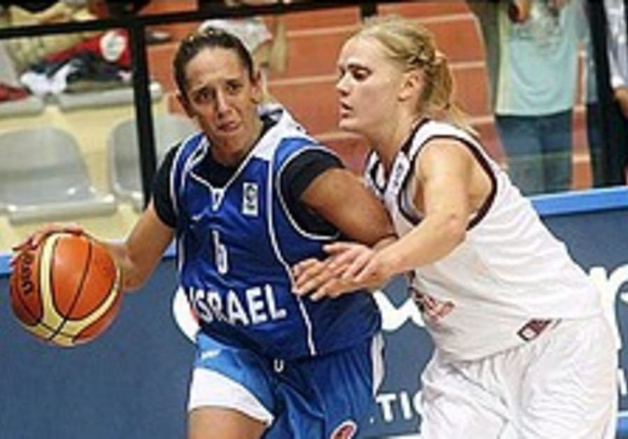 Women's hoops: Israel edged out by Latvia in Italy